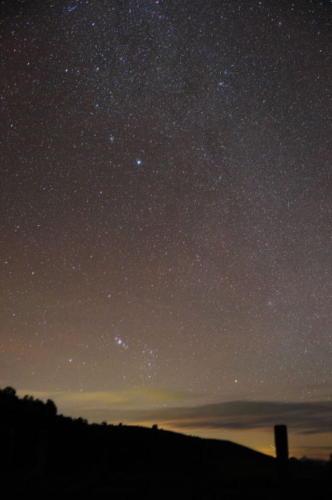 ニュージーランド ・南天の満天の星空2012/05